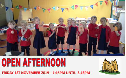 Open afternoon 2019